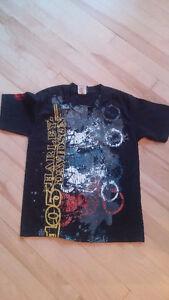 Harley Davidson T shirt - Size Kids Medium 6 - 8 years old