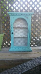 WALL CABINET (BLUE)!!!!!!!