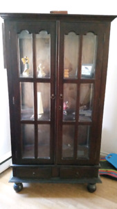 'Telephone Booth' Style Display Case