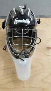 Goalie Mask with Throat Guard - Junior Size