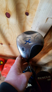 Callaway driver sand wedge and putter