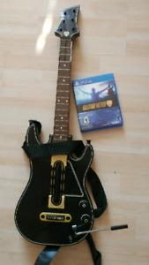 Guitar Hero sur Ps4