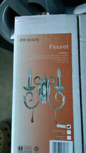 DVision Fleuret Wall Sconces