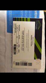 2x Russel Peter tickets @wembley 26.04