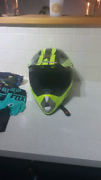 Motorcross helmet brand new with gloves and goggles Eden Hill Bassendean Area Preview