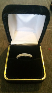 10k 1ctw diamond Wedding band brand new