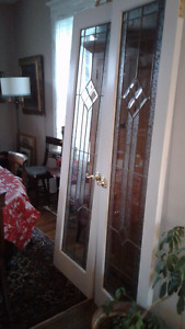 Set of French doors (interior)
