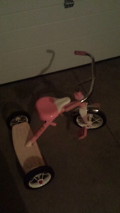 Small pink trike