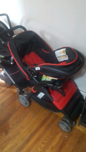 Mint condition Costco stroller and car seat