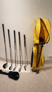 Junior Golf set Acer 8 pieces, USED, up to age 11-13