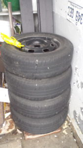rim and tires 185 70 14