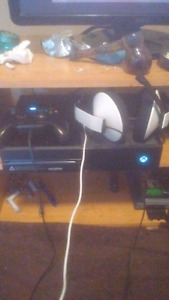 Xbox one with gaming headset