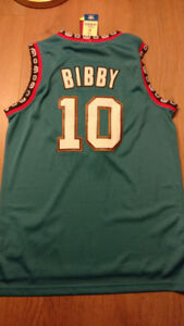 Vancouver Grizzlies #10 Mike Bibby Medium Jersey