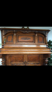 Upright Palace Grand piano REDUCED