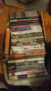 Dvd's movies and seasons