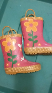 Rain boots with lining s 8 T