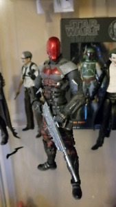 Dc collectibles/comics Arkham knight and Orgin 6inch figures