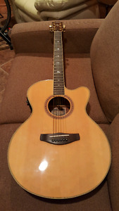 Yamaha cpx8 electric acoustic guitar