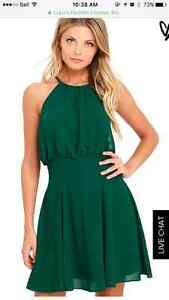 Forest green casual/formal dress