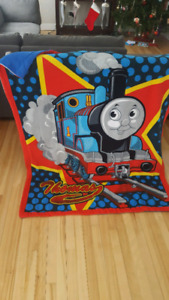 Thomas train blanket