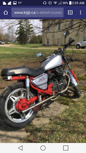 Classic bike for trade for Jeep CJ or TJ