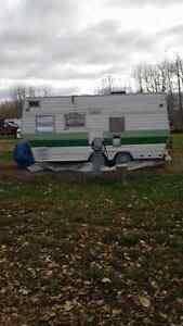 1974 Nomad travel trailer  reduced  to 700
