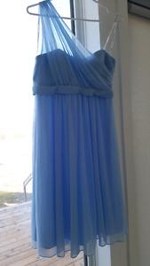 New Davids bridal powder blue dress. Size 8 to 10