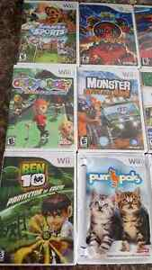 10 Wii games SOLD*