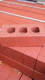 Red Bricks (new) 50p each or full pallet for £180