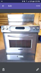 USED 30 inch Electric KitchenAid oven range
