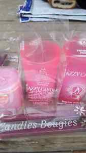 Assorted pink and red candles Edmonton Edmonton Area image 2