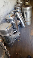 Chrome air breathers/ air filter canisters Peterborough Peterborough Area Preview