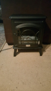 Countryside Electric Woodstove Space Heater