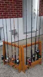 Rack Ligne Peche Canne Fishing Rod Storage