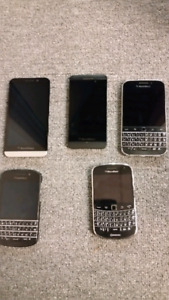 Blackberry phones for sale