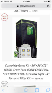 2x2x4 Grow Tent | Buy New & Used Goods Near You! Find Everything