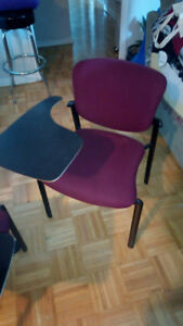 Haworth meeting chair with laptop table