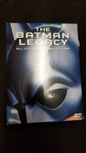 Batman Legacy Collection DVD