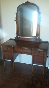 Antique Vanity/Dresser/Wardrobe