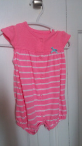 Carters romper 6 month size