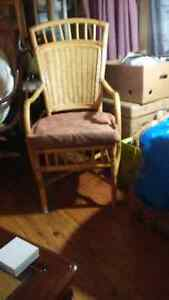Rattan chairs and cushions Cambridge Kitchener Area image 3