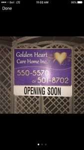 Senior care home accepting  new residents.