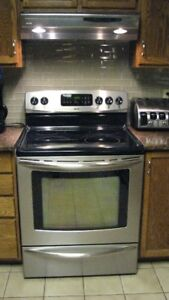 Stainless Steel Kenmore Elite Electric Stove