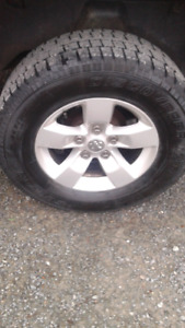 Dodge ram rims and tires 17 ""