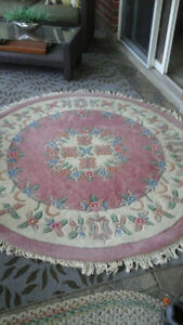 Hand-made Indian rug