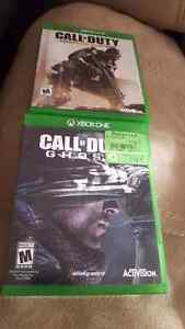 COD Ghosts and Advanced Warfare