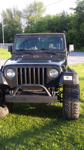 Need to sale. Make an offer Jeep Tj 97