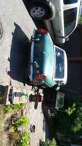 1973 MGB, with hard and soft tops.