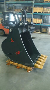 Backhoe Buckets, All Sizes, Canadian Built, 2 Year Guarantee