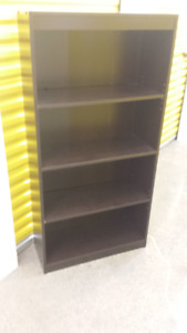 South Shore 4-Shelf Bookcase, Chocolate